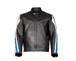 BMW Club leather jacket front