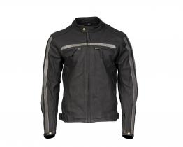 Brixton Chisel leather jacket front