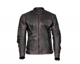 Neo Café leather jacket front