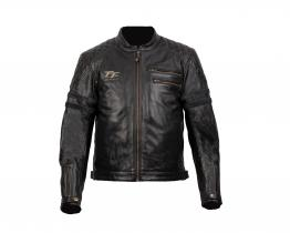 RST Isle of Man TT Hillberry leather jacket front