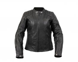 DriRider Paris leather jacket front