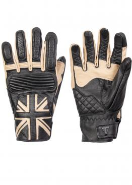 Triumph Mono Flag leather gloves