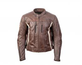 BMW Double R leather jacket front
