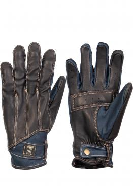 Harley Davidson Arterial Leather & Denim gloves