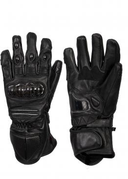 Torque Carbon Knuckle leather gloves