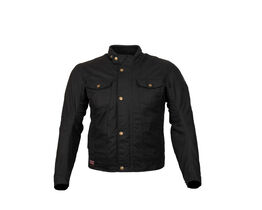 Merlin Anson Waxed Cotton textile jacket front